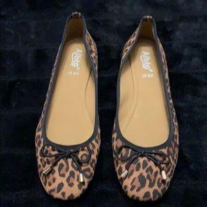 Leopard print ballet flats - size 8 1/2  NWT